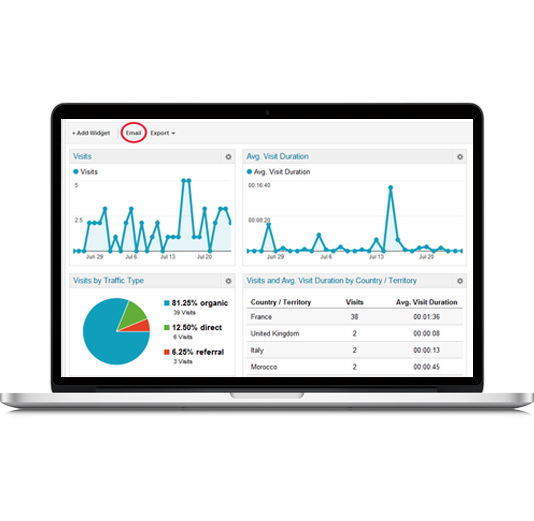 Detailed reporting and analytics to identify sales opportunities.